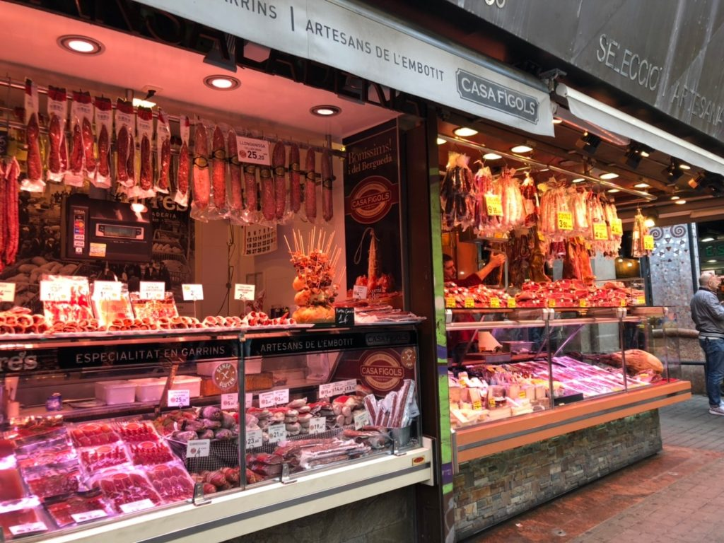 ブケリア市場肉