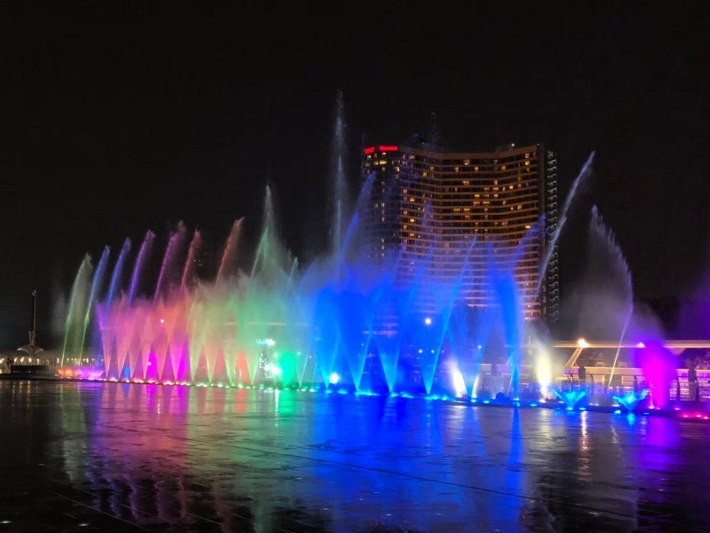 アイコンサイアム噴水ショー